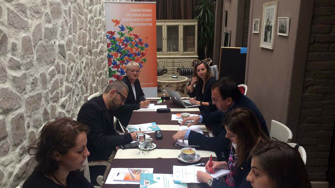 First meeting of the Working Group for the development of the Antidiscrimination Manual for Civil Servants and NGOs