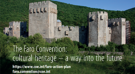 The new Faro Convention Brochure: the way forward with heritage