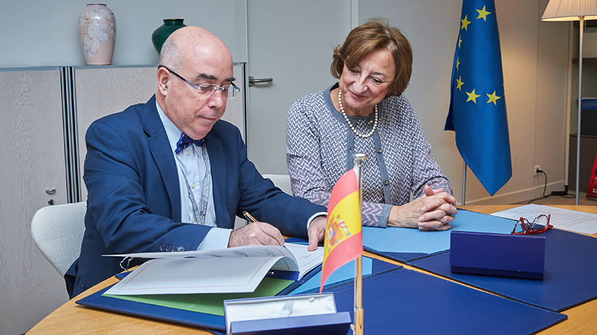 Spain signed the Convention on the Value of Cultural Heritage for Society
