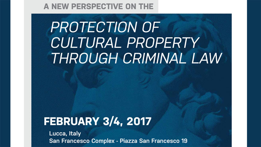 A new perspective on the protection of cultural property through criminal law