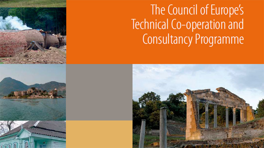 "New publication: ""An integrated approach to cultural heritage – The Council of Europe's technical co-operation and consultancy programme"""