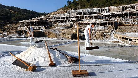 Salt Valley of Añana, Basque Country