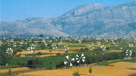 Restoration of Lasithi Plateau's Windmills with Perforated Sails