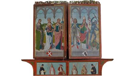 Interactive research and conservation project of the Retable of the High Altar of Tallinn's St. Nicholas' Church