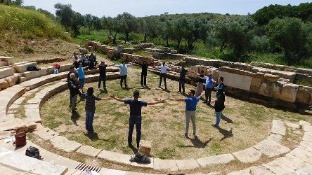 Let's learn about ancient theatre by acting (adults)
