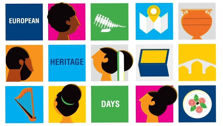 A new digital animation to mark 35 years of the European Heritage Days