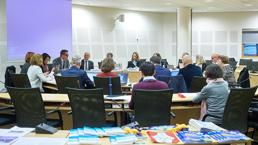 16th meeting of the Bureau of the CDCPP