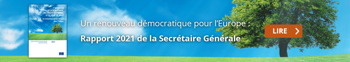 State of Democracy, Human Rights and the Rule of Law: A democratic renewal for Europe