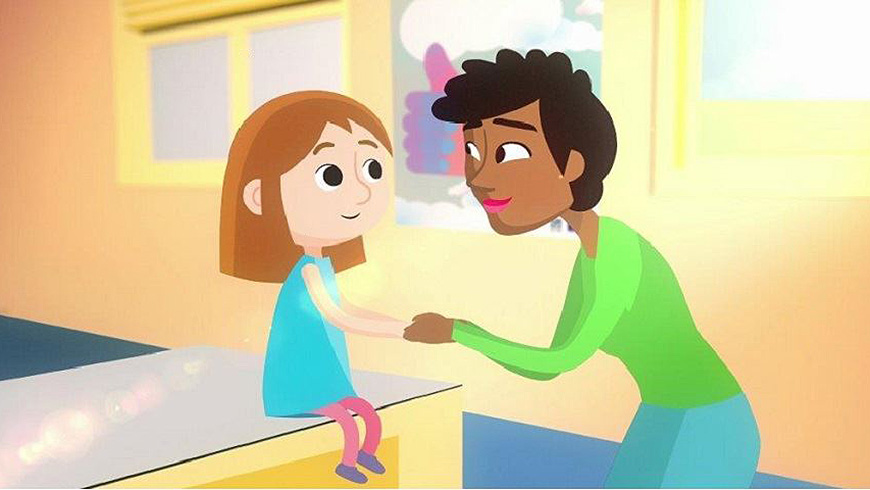New  animated clip entitled 'Tell Someone You Trust'