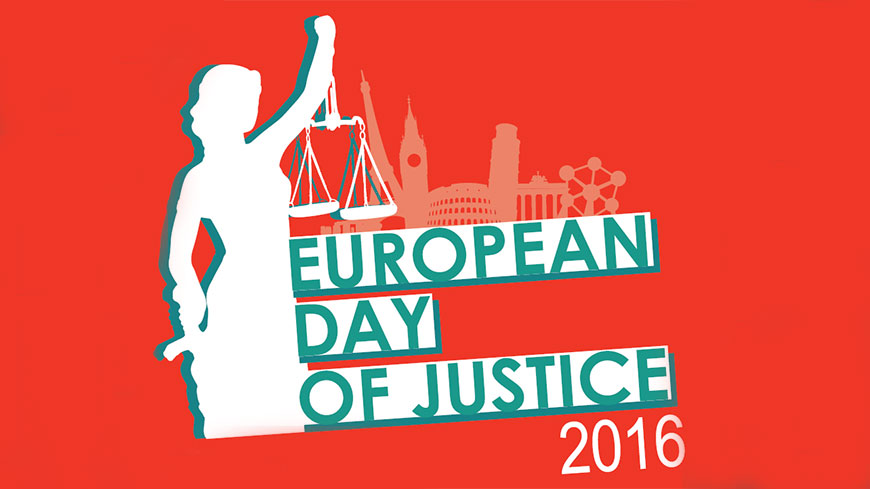 The European day of justice is celebrated in 18 member States of the Council of Europe