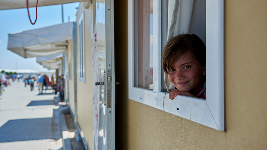 Concrete achievements in 2018 to ensure the protection of refugee and migrant children