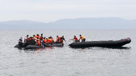 Helping refugees in the Mediterranean