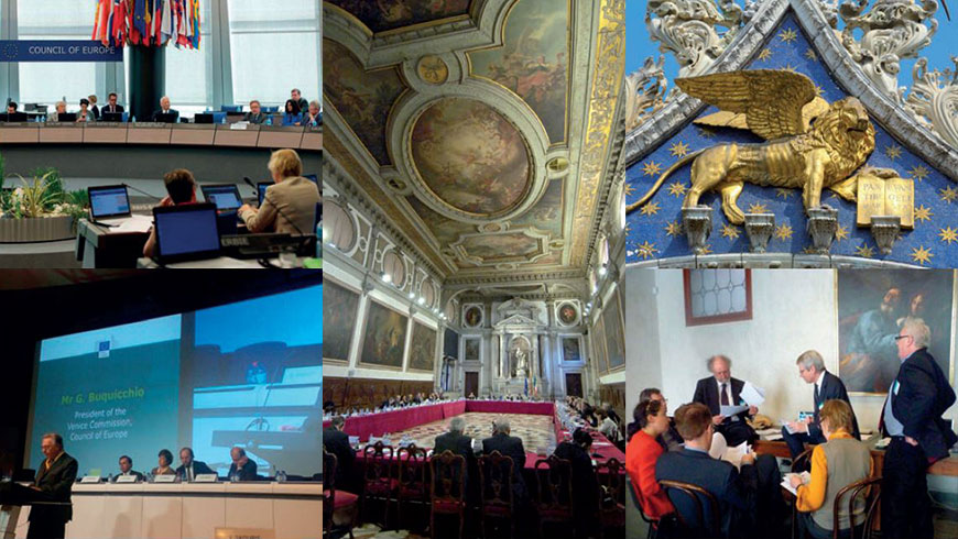 Albania, Hungary, Malta and Turkey among key opinions adopted by the Venice Commission