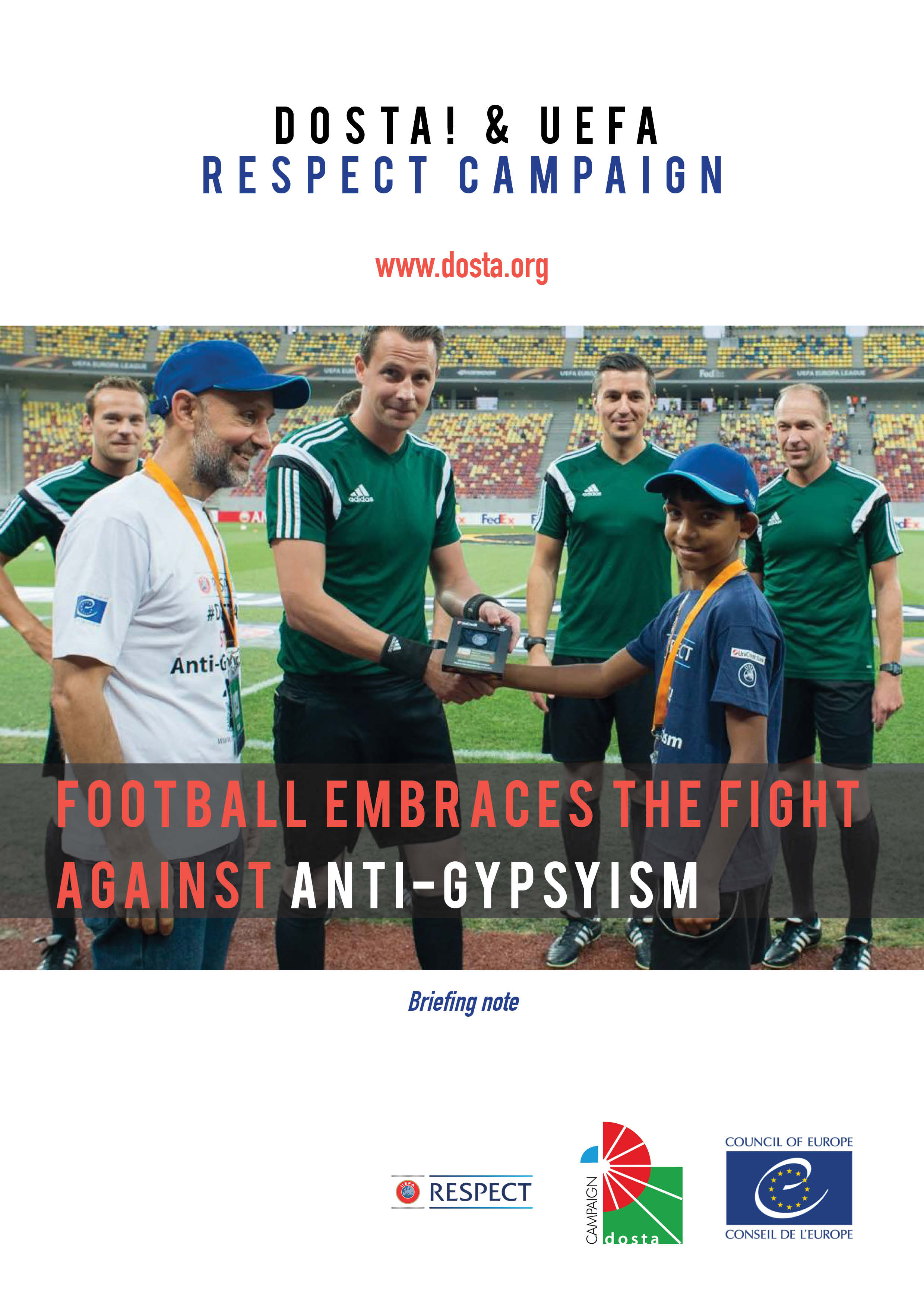 Football embraces the fight Against Anti-Gypsyism