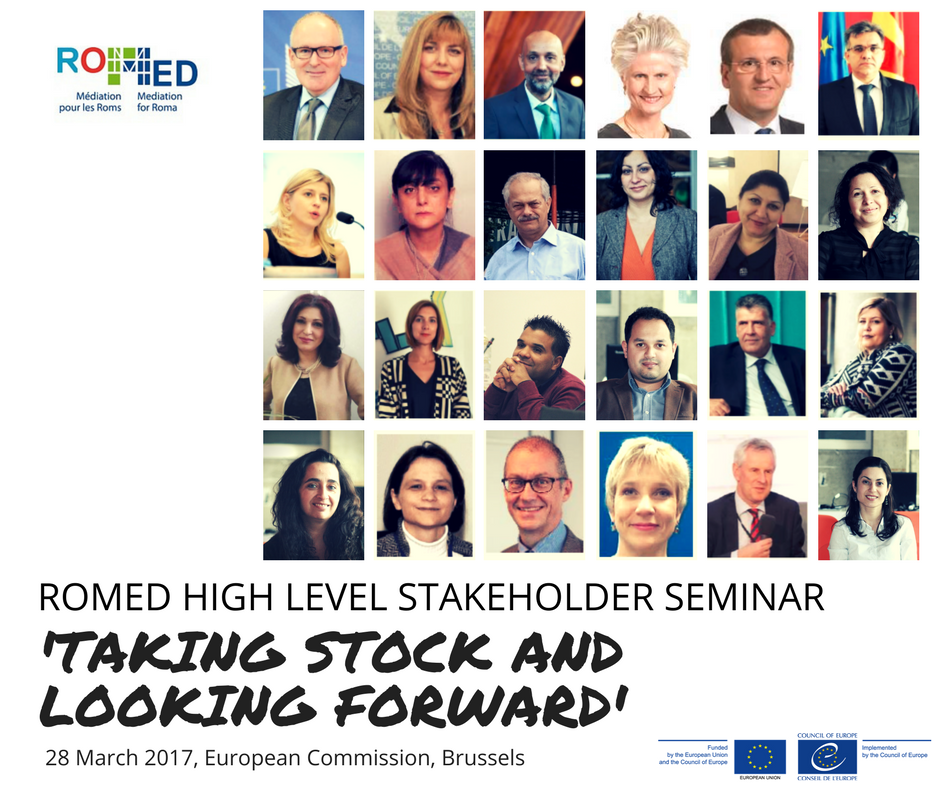 "ROMED High Level Stakeholders Seminar ""Taking Stock and Looking Forward"""