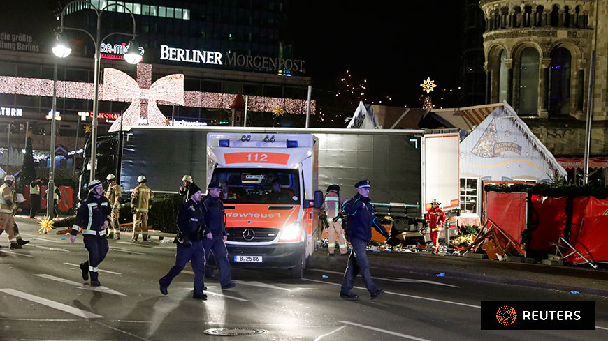 Suspected terrorist attack in Berlin: Secretary General statement