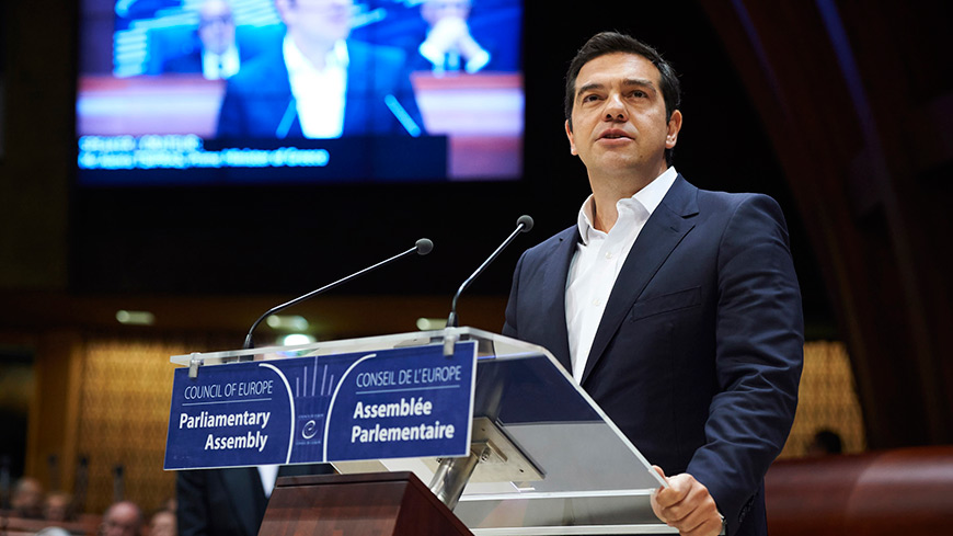 Greek Prime Minister issues strong call for a 'a better Europe'