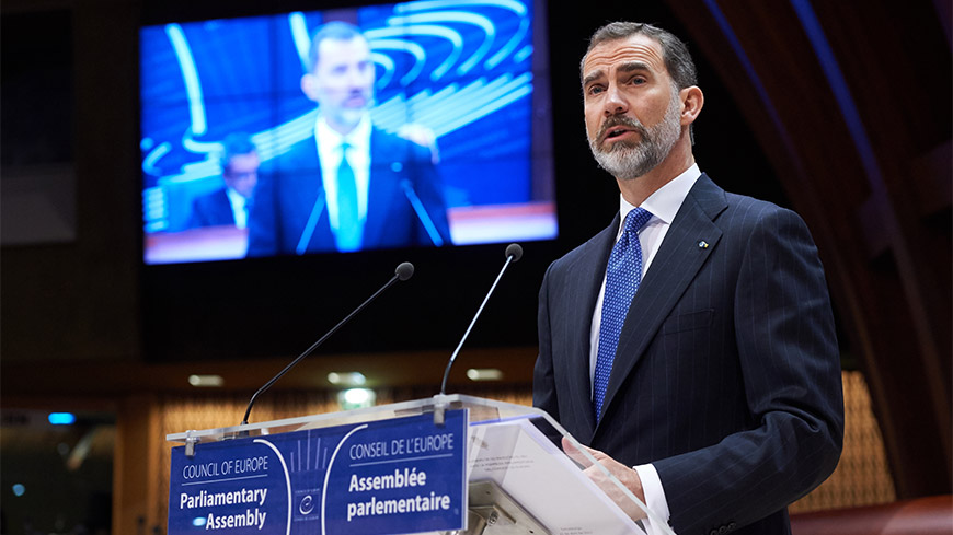 "His Majesty the King of Spain: ""Europe remains an inspiring project"""