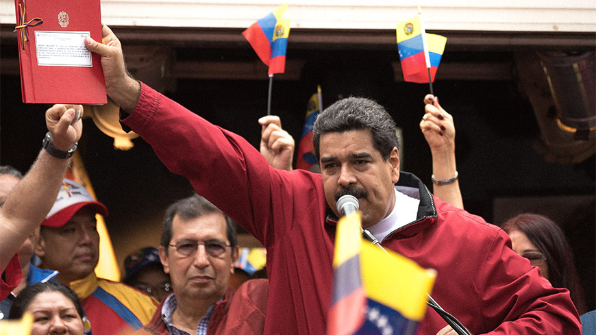 "Venezuelan President's bid for new constitution lacks ""credibility"": Venice Commission"