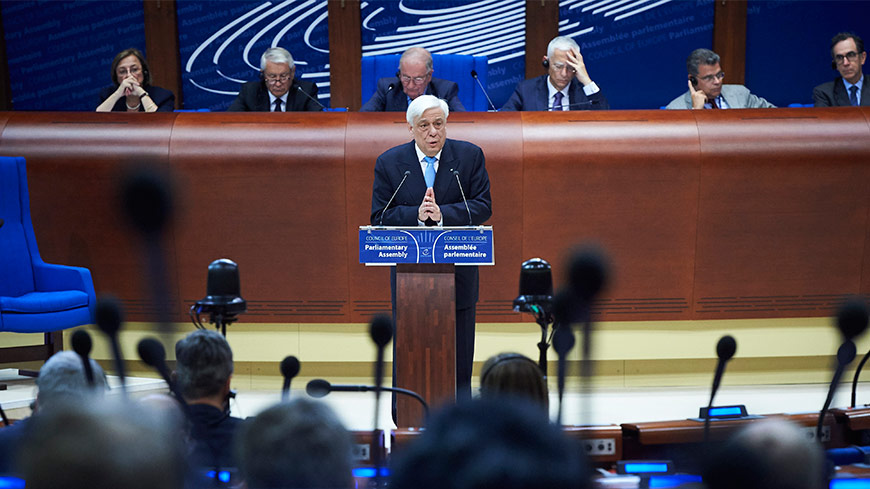 Prokopios Pavlopoulos: representative democracy, the most effective system in protecting human rights