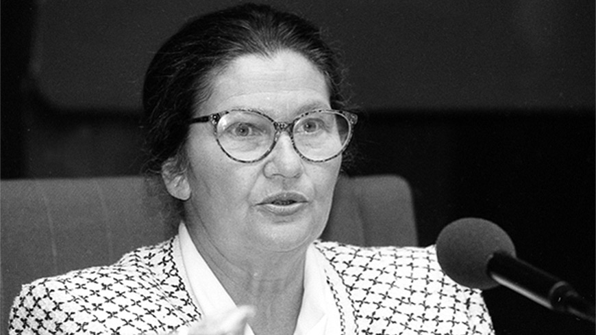 "The Secretary General, Thorbjørn Jagland, paid tribute to the ""remarkable life and career of Simone Veil"""