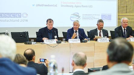 Internet freedom as a factor of democratic security: Strasbourg conference