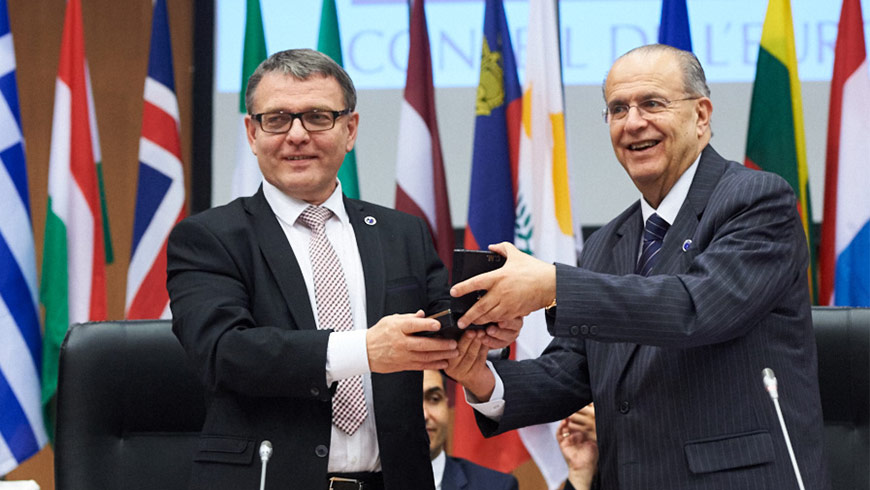 Committee of Ministers: chairmanship handover from Cyprus to Czech Republic