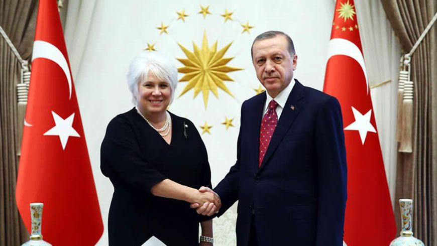 Turkey: visit by the Chair of the Committee of Ministers, Estonian Foreign Minister M. Kaljurand