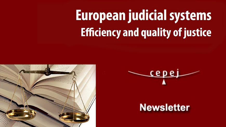 European Commission for the Efficiency of Justice - Newsletter