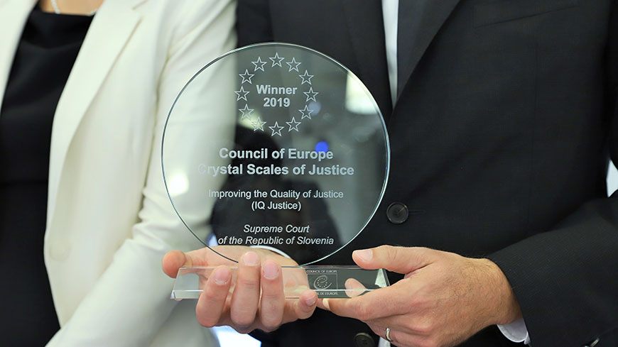 Supreme Court of Slovenia wins Crystal Scales of Justice Prize