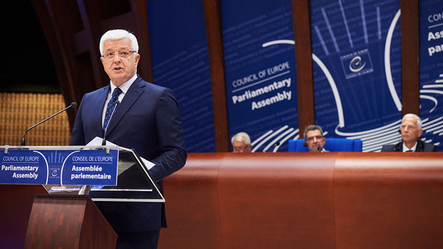 Duško Marković: Montenegro will be a 'constructive partner' for the Council of Europe