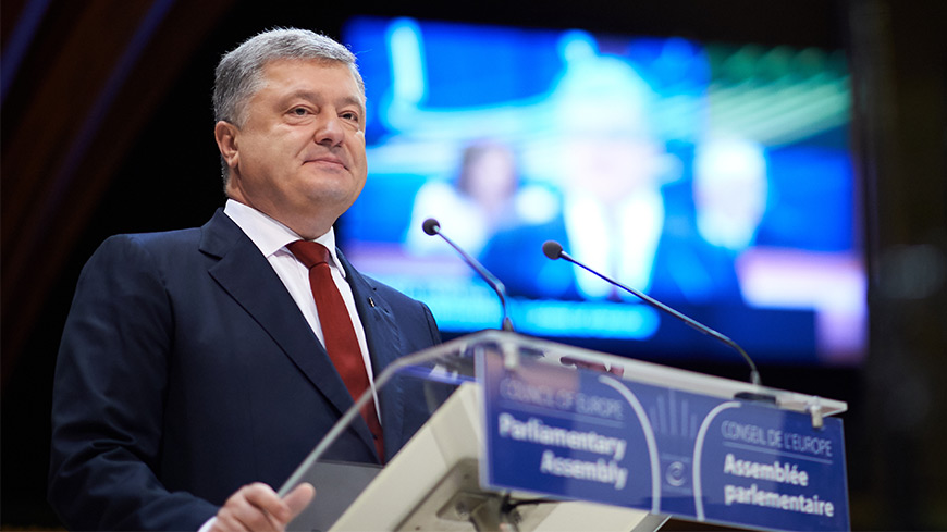 Petro Poroshenko: Ukraine is fighting on two fronts – one military, the other for reform