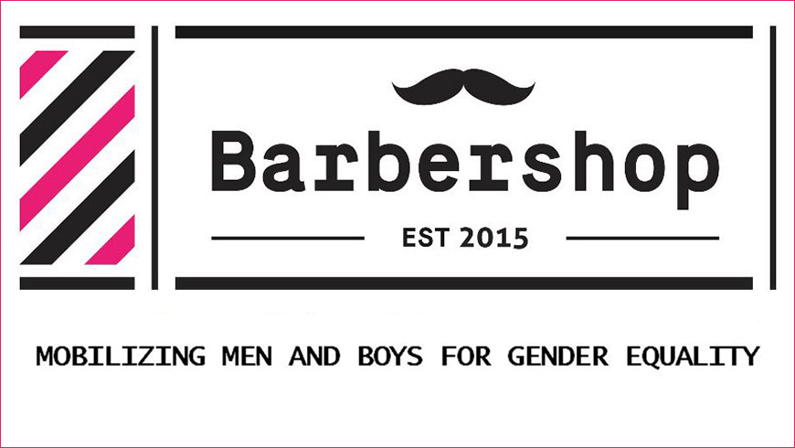 Barbershop about how to involve more men in promoting gender equality and combatting sexism