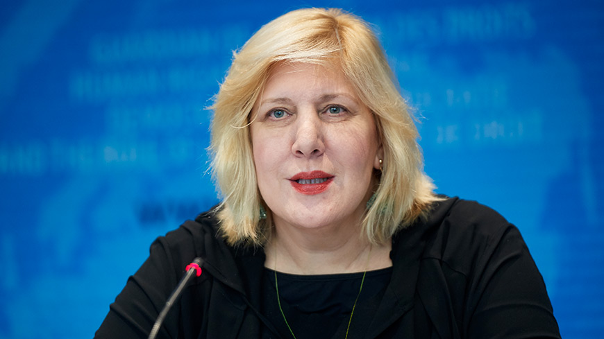 "Paris: Commissioner Mijatović provides her initial observations on human rights issues relating to the ""yellow vest"" movement"