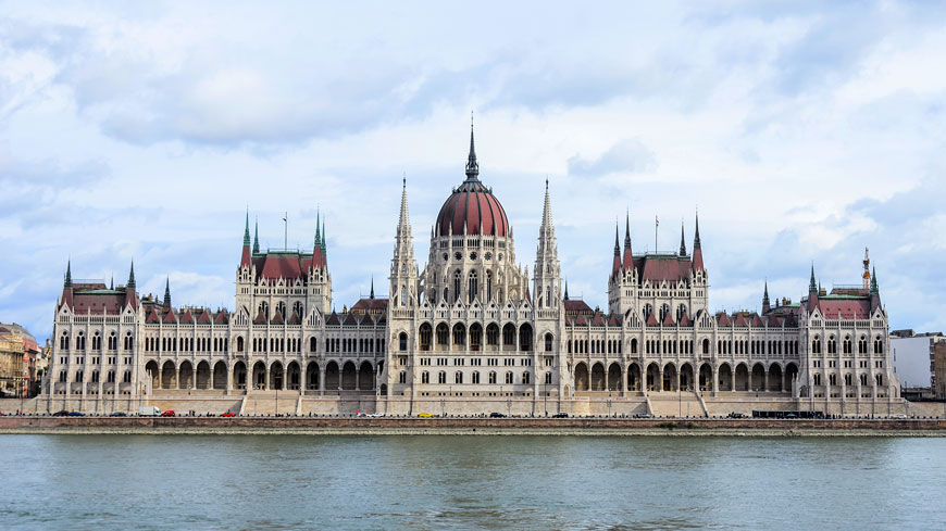 Building of the Hungarian Parliament in Budapest, Hungary. ©Tanya Rozhnovskaya/Shutterstock.com