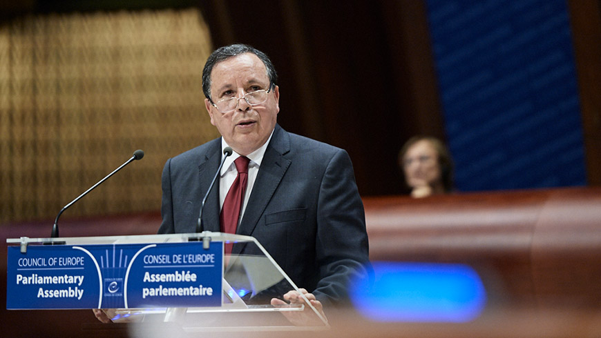 Tunisian Foreign Minister thanks Council of Europe for its support