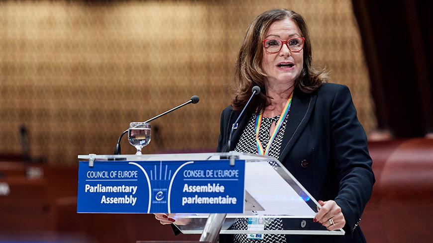 "Gudrun Mosler-Törnström: ""It is through synergy that we will succeed to strengthen democracy"""
