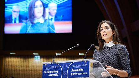 Crown Princess of Denmark: we cannot take our human rights for granted