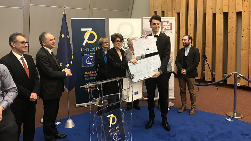 French student wins the European Prize for Eloquence