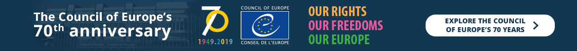 Explore the Council of Europe's 70 years