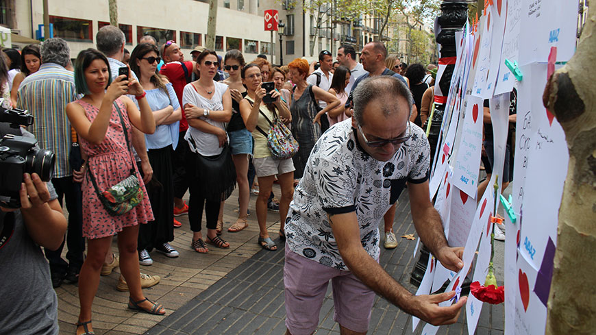 Violence in Barcelona is an attack on Europe's freedom and democracy