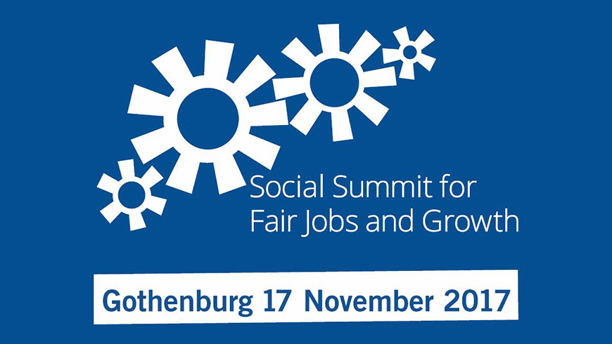 Secretary General Jagland attends Social Summit for Fair Jobs and Growth