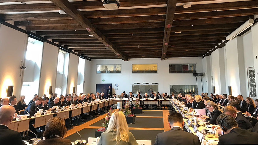 Meeting of Ministers of Justice on the European human rights system: speech of Secretary General