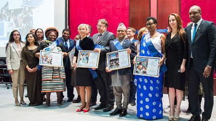 Council of Europe receives Future Policy Award for empowering youth