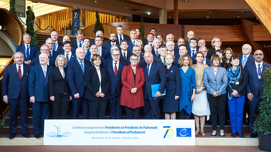 European summit of Presidents of Parliament in Strasbourg