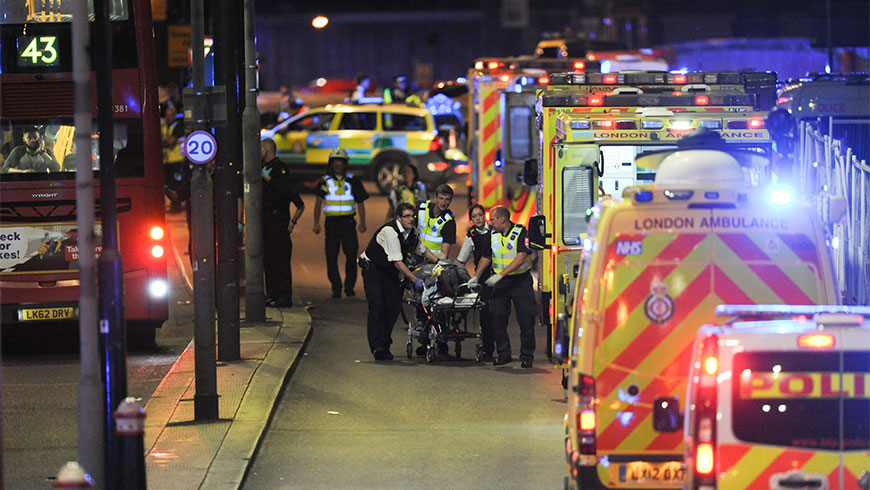 statement by the secretary general on the london attack terrorism