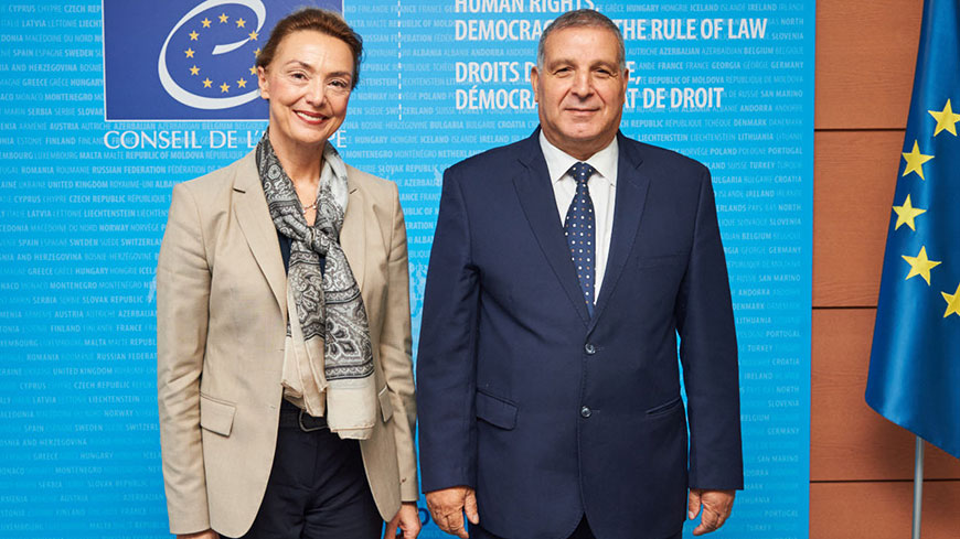 Tunisia: Secretary General confirms Council of Europe commitment to reinforced political dialogue