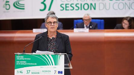 "Liliane Maury Pasquier: ""The Council of Europe needs the continuing commitment of the Assembly and the Congress"""