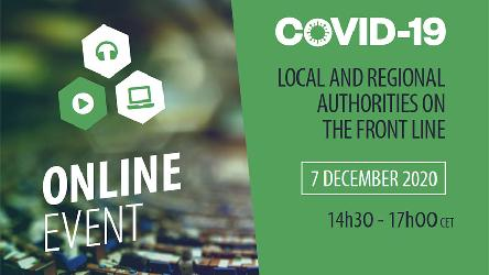 """Covid-19: Local and regional authorities on the frontline"""