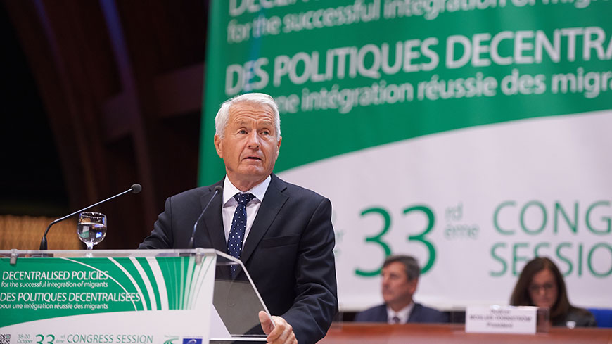 "Thorbjørn Jagland: ""Member states have a duty to ensure Council of Europe principles are respected"""